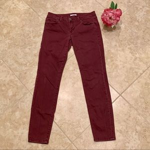 CAbi Maroon Pants Size 6